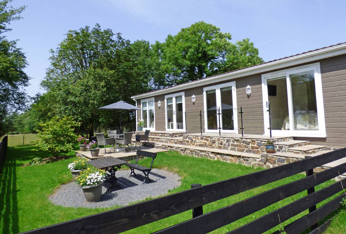 Hafod y Coed Lodge - 5 Star Holiday Home - Princes Gate, Near Narberth, Pembrokeshire, Wales
