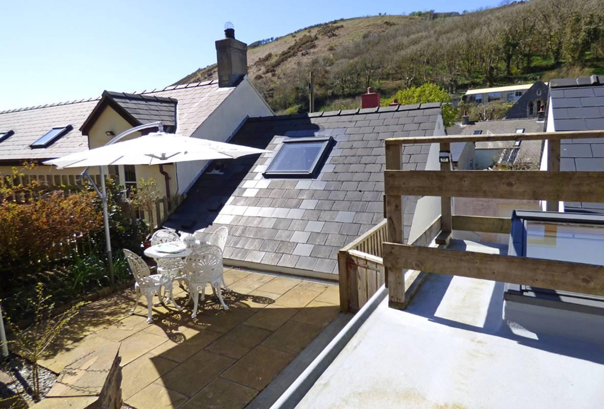 Min yr Afon Annexe - 4 Star Holiday Home - Solva, Pembrokeshire, Wales