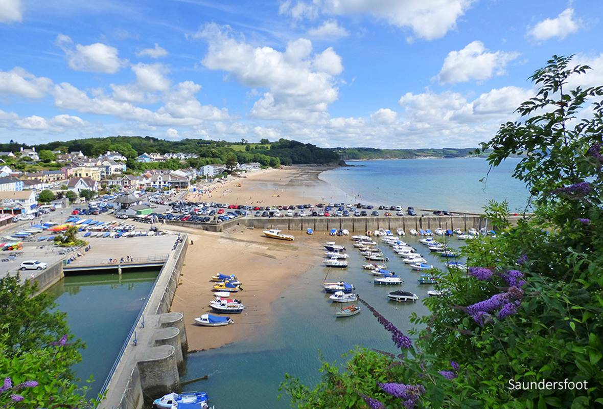 Swallows Nest - 3 Star Holiday Apartment - Saundersfoot, Pembrokeshire, Wales