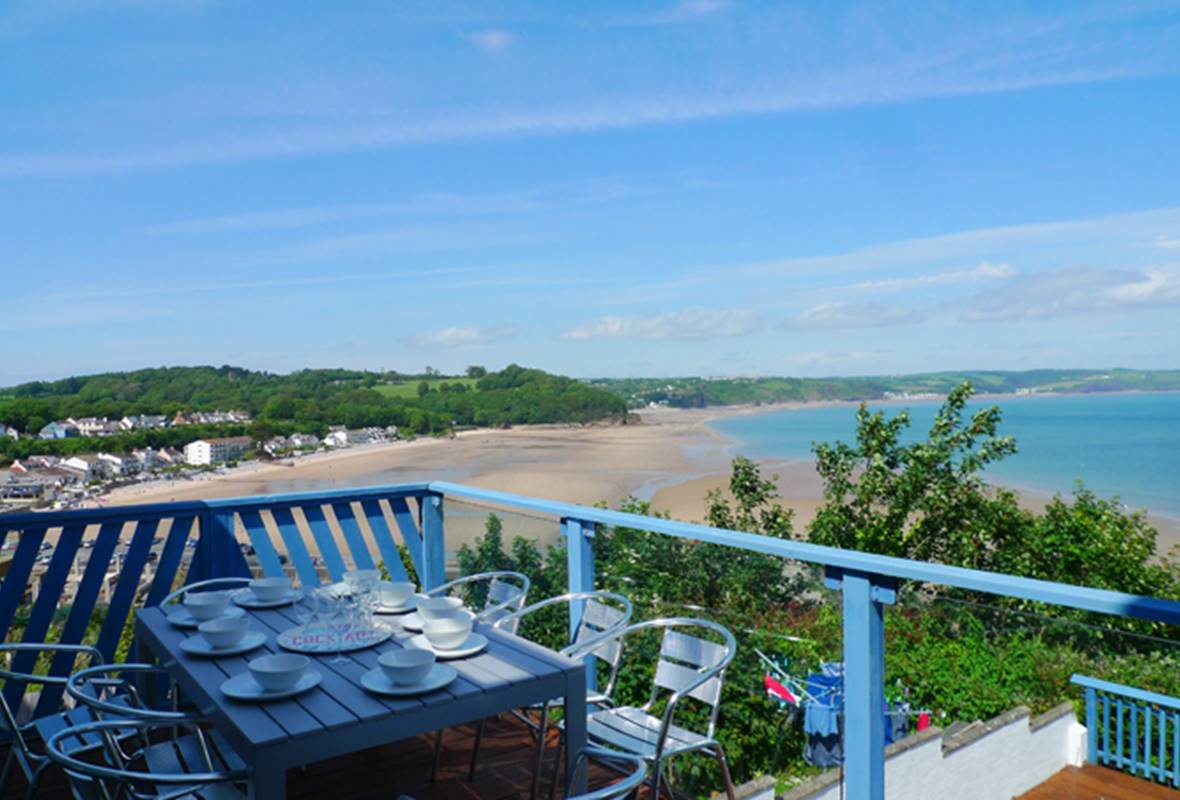 Cystanog Fach - 4 Star Holiday property - Saundersfoot, Pembrokeshire, Wales