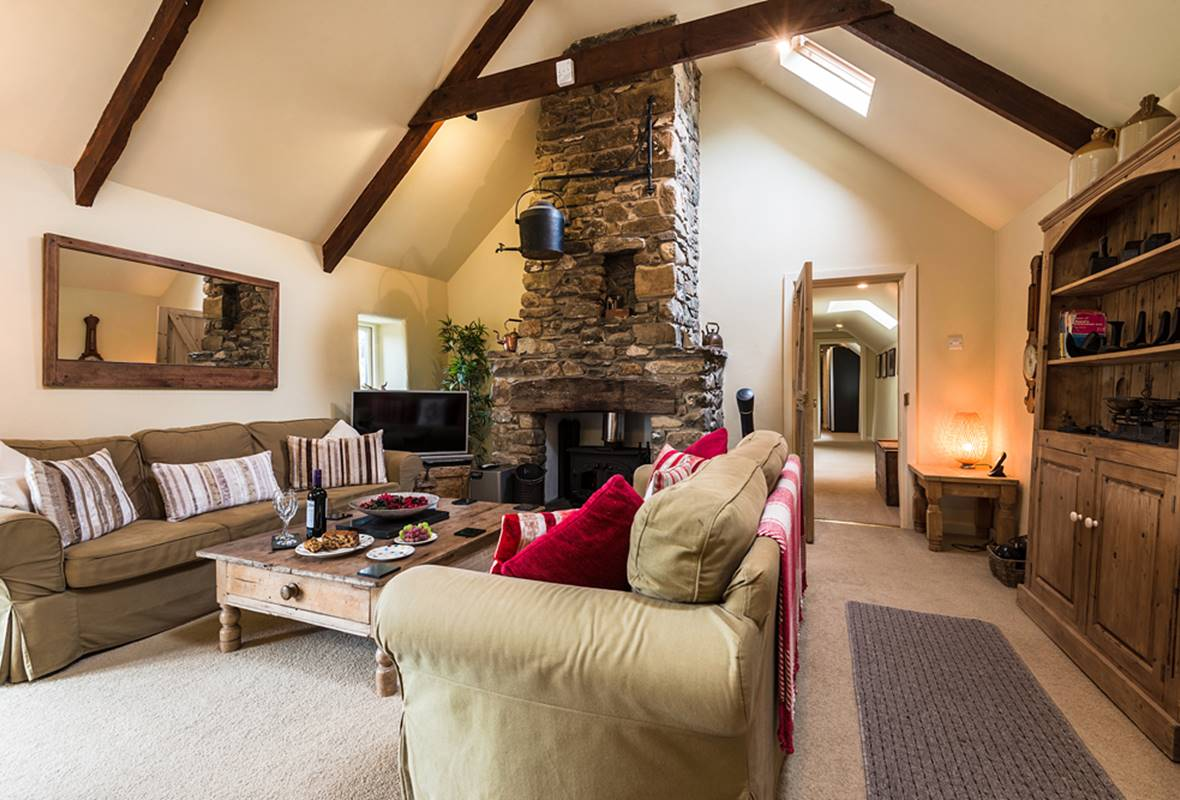 West Barn - 5 Star Holiday Cottage - Lochvane, nr Solva, Pembrokeshire, Wales