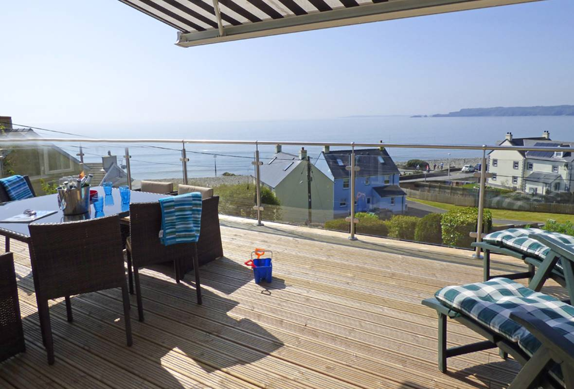 Shell Haven - 5 Star Holiday Cottage - Amroth, Pembrokeshire, Wales